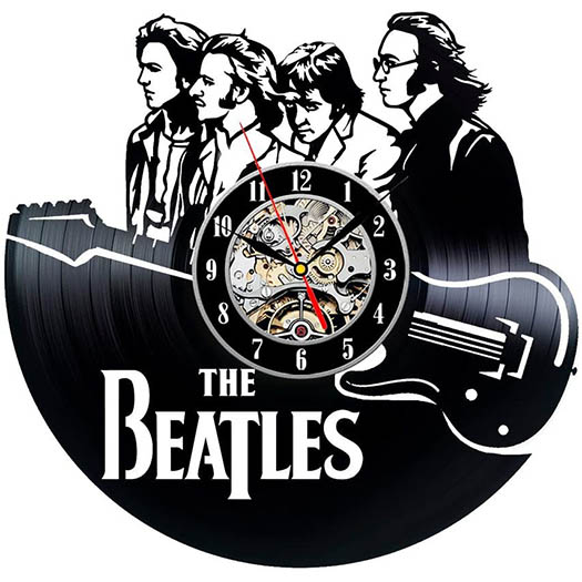 Reloj Disco de Vinilo Beatles