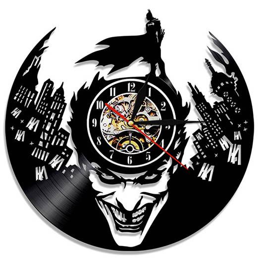 Relojes Discos de Vinilo Batman - Joker