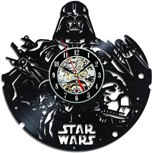 Relojes Discos de Vinilo StarWars - Darth Vader